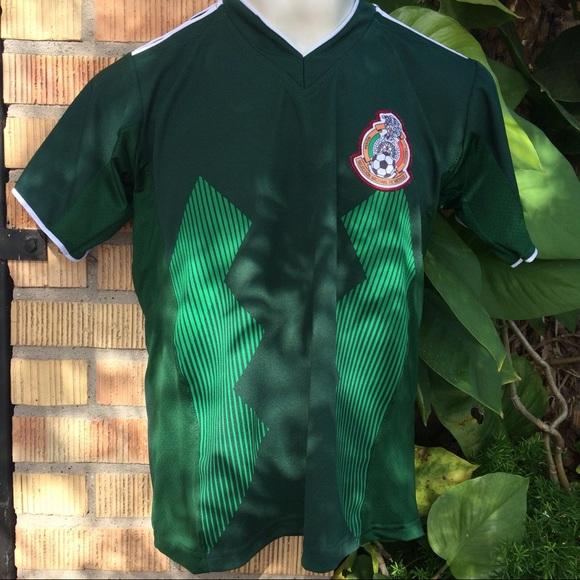 Mexican Soccer Team Jersey Green World Cup 2018 720e1e862